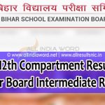 Bihar Intermediate Compartment Result 2020